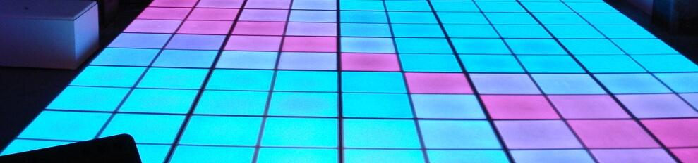 Verlichtedansvloeren voorbeeld afmeeting 5 x 6 meter